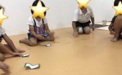 【鹿児島市の放課後等デイサービスWillGoの療育】制作活動を行いました。