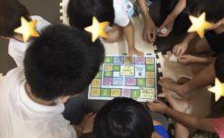【鹿児島市の放課後等デイサービスWillGoの療育活動】すごろくゲームをしました。