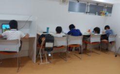 【鹿児島市の放課後デイサービスWill Goの学習支援】学習の様子です。