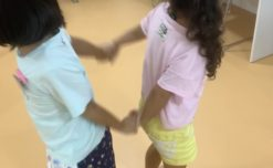 【鹿児島市の放課後等デイサービスWillGoの療育】運動遊びをしました。