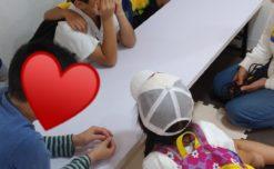 【鹿児島市の放課後等デイサービスWillGoの療育活動】振り返りトレーニングを行っております。