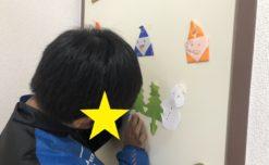 鹿児島市の放課後等デイサービスWillGoの療育 切り絵制作をしました。